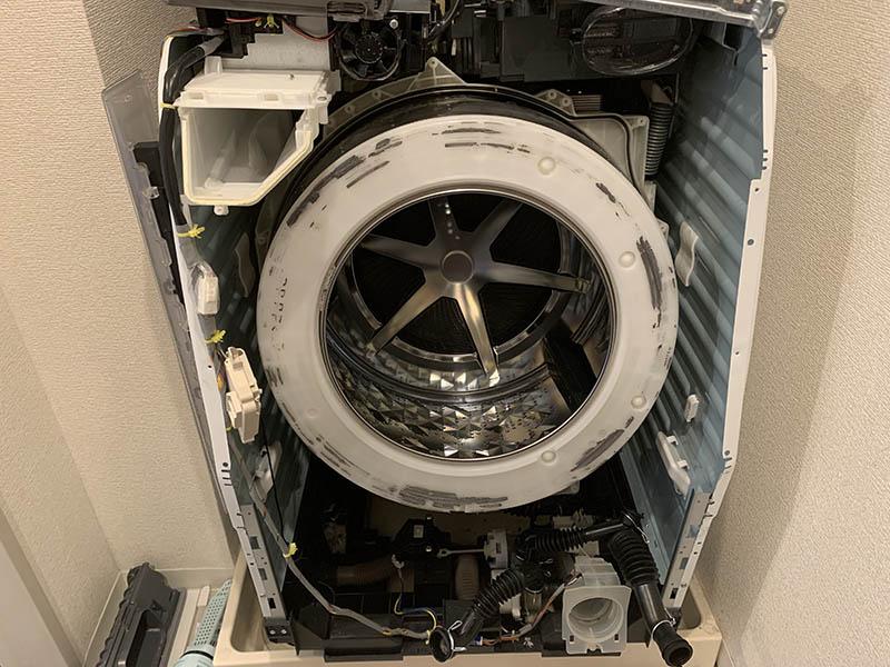洗濯機を自分で修理した話